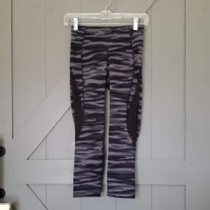 Like New Old Navy Camo Workout Capri